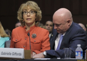 Giffords at Hearing with credit